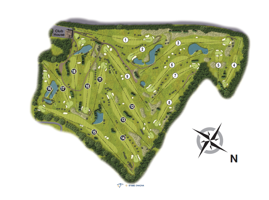 HM Course Map